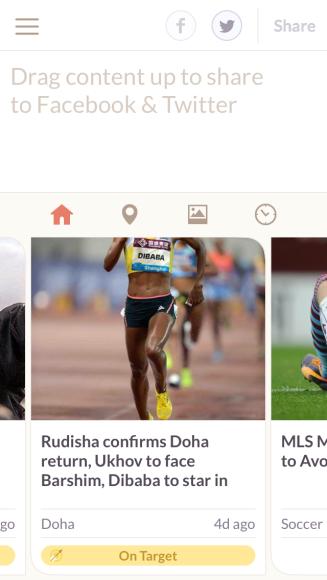 Stream of articles